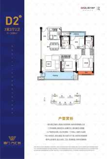 高力万汇城(高力地产浏阳项目)户型图