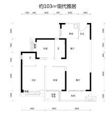 碧桂园天禧户型图