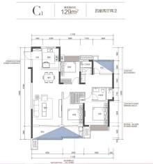 C1户型图