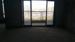 新月半岛电梯河景房143平三房两厅毛坯85.8万钥匙在手