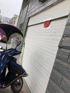 乐好医院后面东沙新村三区临路车库出租,可做小型仓库