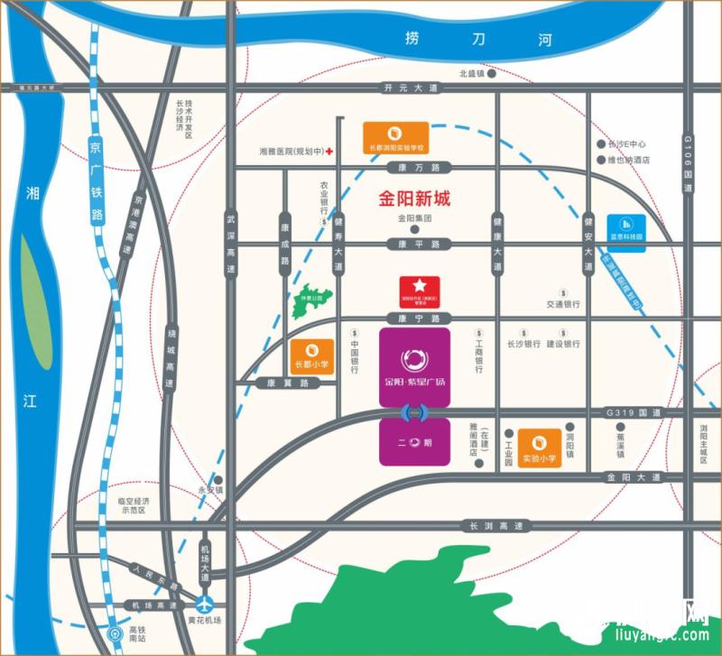 金阳紫星广场位置图