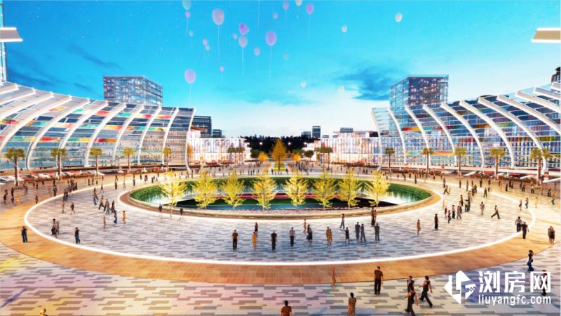 金阳紫星广场效果图