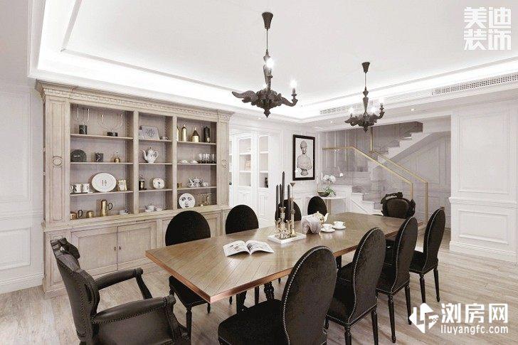 彩虹谷简美风装修案例图--餐厅