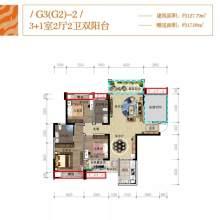 G3-2户型四房